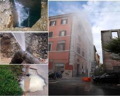 Esempi di perdite idriche