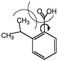 La costante elettronica degli orto-sostituenti risente di fattori sterici oltre che elettronici.