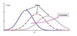 Fig. 10.1 – Andamento di C(x,t)