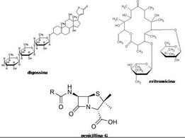 Fig. 4 Struttura di alcuni farmaci di origine naturale