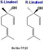 Linalolo. Fonte: Biosite
