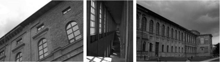 H.Dollgast, restauro dell'Altes Pinakothek-Monaco(1957)
