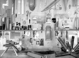 Scorcio della falegnameria del Renzo Piano Building Workshop