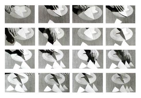 Modello dimostrativo della geometria delle volte dell'Opera House di Sidney, Jørn Utzon