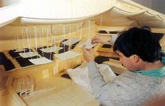 Studio della riflessione acustica sul modello dell'auditorium di Roma, Renzo Piano
