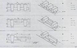 Alvar Aalto, Baker House, 1947 – studi preliminari