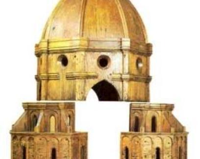 Cupola, modello ligneo originale