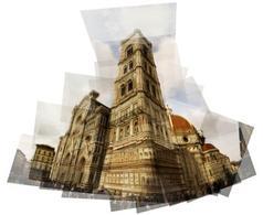 Duomo di Firenze: fotomontaggio