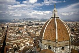 Veduta di Firenze dal campanile di Giotto