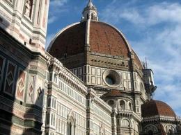 Scorcio della cupola realizzata da Brunelleschi