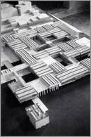 Modello dell'Ospedale realizzato nel 1970.