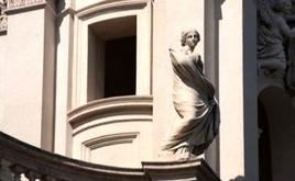Sant'Agnese in Agone, dettaglio.