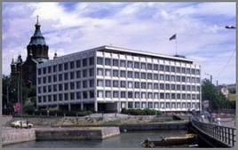 Alvar Aalto, sede della società Enso-Gutzeit a Helsinki, 1959-1962