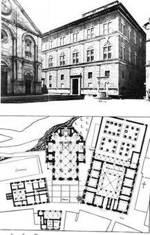 """Immagine tratta da """"Architettura e mentalità dal  classico al neoclassico"""" di Manieri Elia, Biblioteca Universale Laterza"""