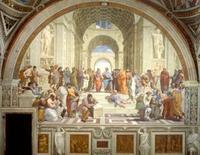 Scuola di Atene, Raffaello (1509-1511), Musei Vaticani (Immagine tratta da www.splinder.com)