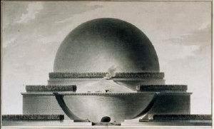 Cenotafio di Newton 1784-85