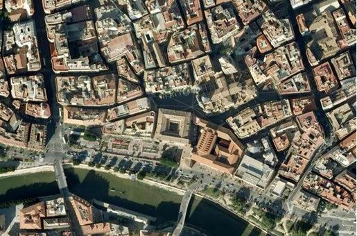 Immagine satellitare (Google Earth pro ed.)