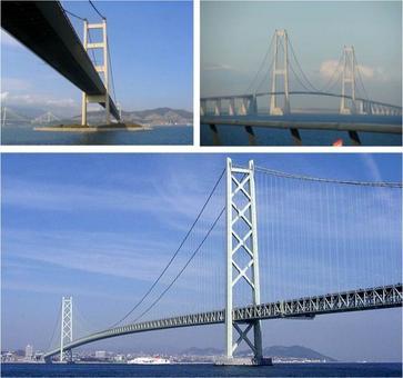 Ponti di grande luce: Lantau Bridge, Storebaelt Bridge, Akashi Kaikyo Bridge