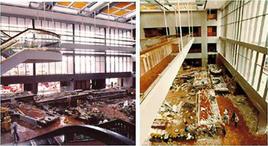 Hyatt Regency Hotel, Kansas City, Missouri, 1981, 44 vittime. Fonte: Seaint