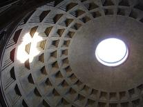 Pantheon, Roma – 20 a.C. Fonte: Wikimedia Commons