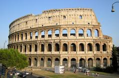 Colosseo, Roma – 60 d.C. Fonte: Wikimedia Commons