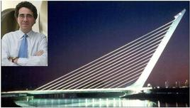 Alamillo Bridge, Seville-Spagna, 1992; Santiago Calatrava, ingegnere e architetto. Fonte: imageshack, Public Address