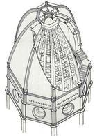 La cupola del Brunelleschi, S. Maria del Fiore, Firenze – 1436, gramma multimedia
