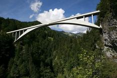 R. Maillart, Salginatobel Bridge, 1930. Fonte: Wikimedia Commons
