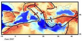 Posizione geografica italiana. Fonte: Protezione Civile