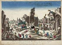 Terremoto di Reggio Calabria, Febbraio 1783. Fonte: Wikimedia Commons