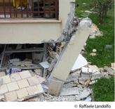 Collasso di un pilastro in c.a. (L'Aquila)