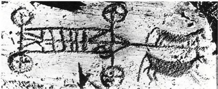 Incisione rupestre – Valcamonica 7-800 a.C.