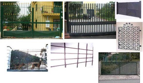 Analisi del problema: studio delle diverse tipologie di cancello su cui applicare il passo carrabile.