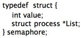 Codice (implementazione reale)
