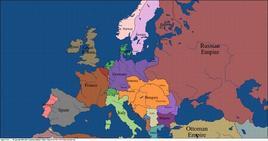 L'Europa del 1914
