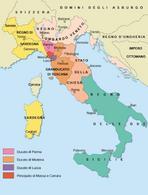 Gli stati italiani dopo il Congresso di Vienna nel 1815