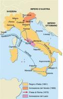 Completamento ottocentesco dell'unificazione italiana