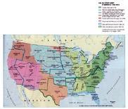 Gli Stati Uniti d'America 1783-1912