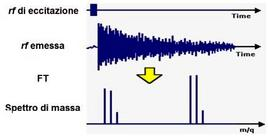 Il segnale emesso è la somma di più radiofrequenze