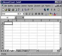 Figura 3.1: Foglio elettronico Excel.