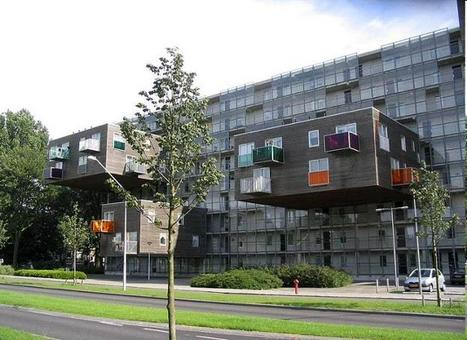 MVRDV, Residenze WOZOCO, Amsterdam, 1997. Fonte: Wikipedia