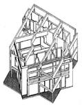 Peter Eisnman, House III, 1970. Fonte: Ecole