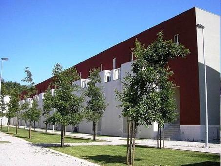 Alvaro Siza, Casas sociais SAAL, Bouça II, Porto, 1975-1977. Fonte: Wikimedia