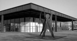 Mies van de Rohe, la Neue National Gallery (1965-1968). Fonte Wikimedia.