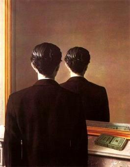 Renè Magritte, La riproduzione vietata (1937). Fonte: Elektron