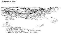 Le Corbusier, studi per la città di Rio de Janeiro (1929). Fonte A. Marino: uniroma3