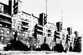 Karl Ehn, Karl Marx Hof, Vienna (1927-1930). Fonte: Politecnico di Torino