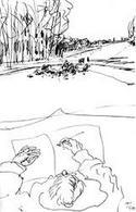 Alvaro Siza, schizzi. Fonte: Atelier Pedroso.