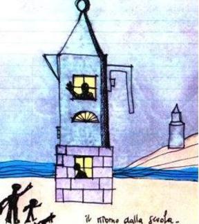 Aldo Rossi, disegno.