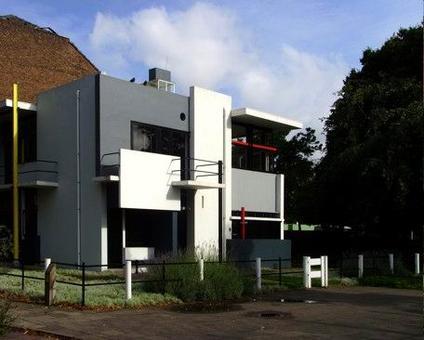 Gerrit Rietveld, Schröder House, Utrecht, 1924. Fonte wikipedia